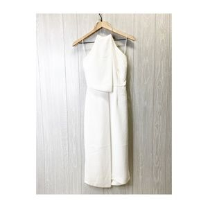 Keepsake White Dress Midi XS